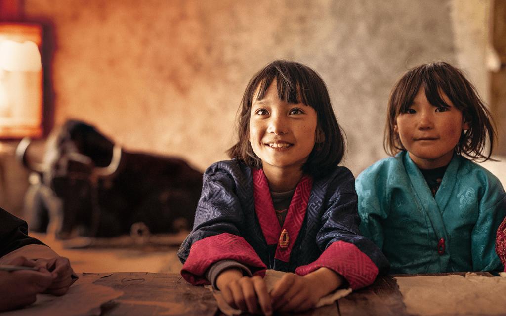 映画「ブータン 山の教室」