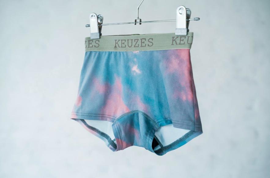 『keuzes』の生理用ナプキンをつけられるボクサーパンツ