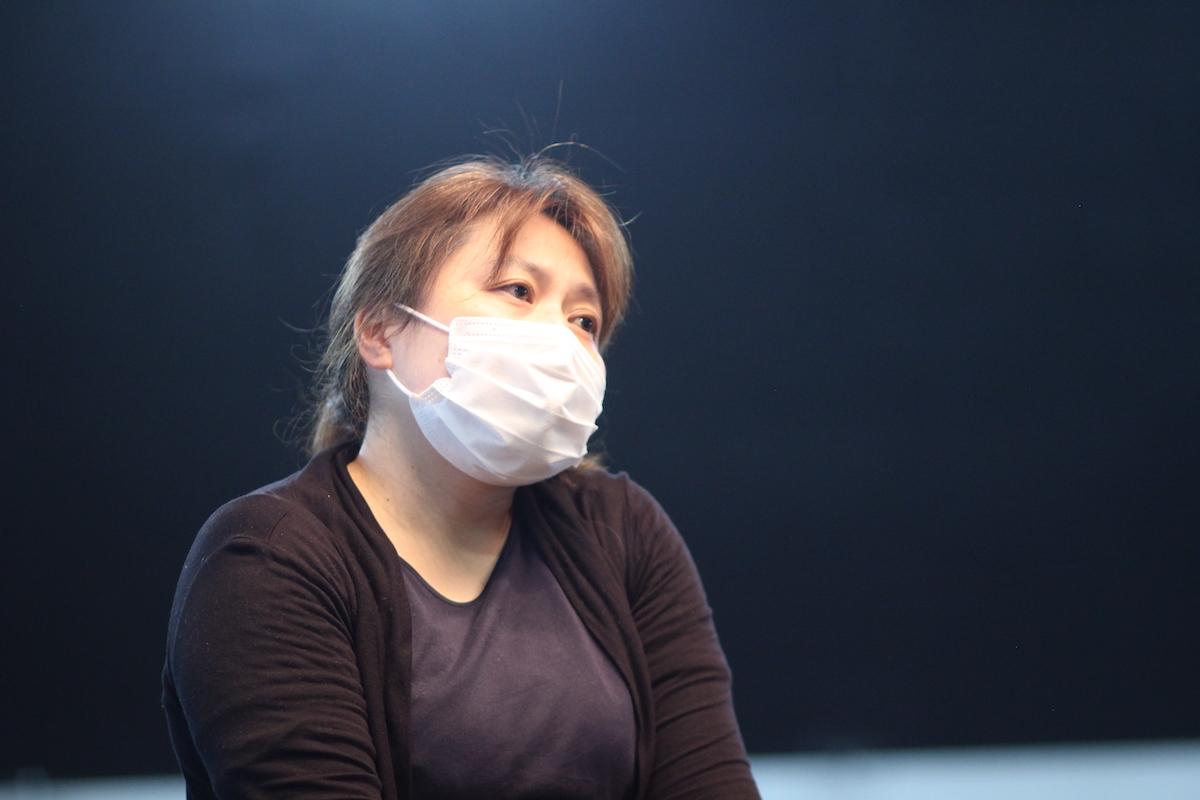 取締役総務部長の竹内陽子さん